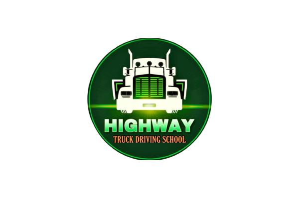 Highway Truck Driving School Logo