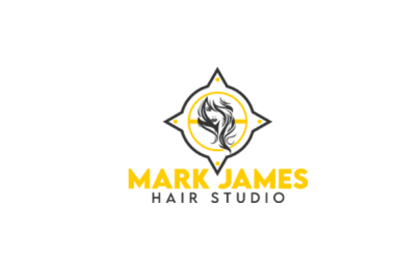 Mark James Hair Studio Logo