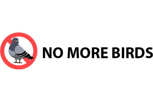 No More Birds logo   Bird and Nest Control